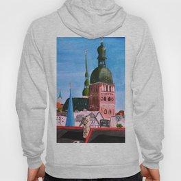 Vertical: Chimneys and Churches of Riga Hoody