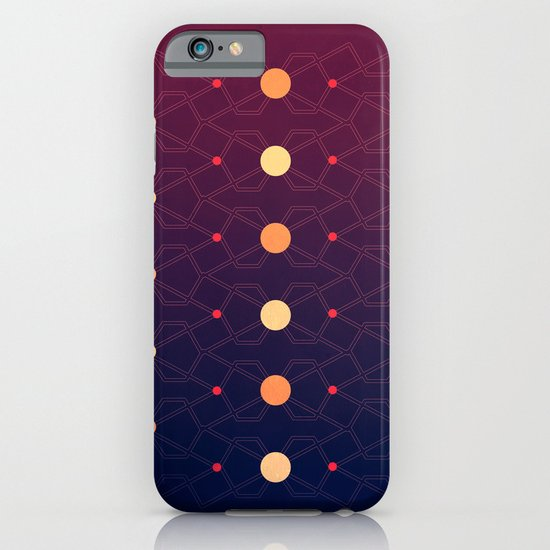 Connecting the dots iPhone & iPod Case