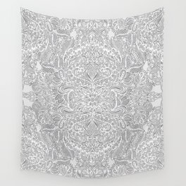 Frost & Ash - an Art Nouveau Inspired Pattern Wall Tapestry