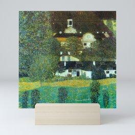 "Gustav Klimt ""Schloss Kammer on the Attersee"" II. Mini Art Print"