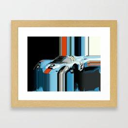 Bluemonday Framed Art Print