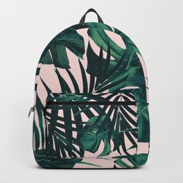 Tropical Jungle Leaves Pattern #5 #tropical #decor #art #society6 Backpack