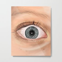 Hallie's Eye Metal Print