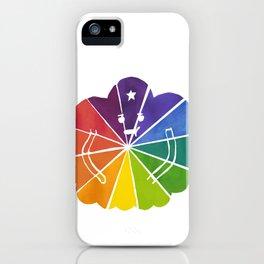 LSP Colour Wheel iPhone Case