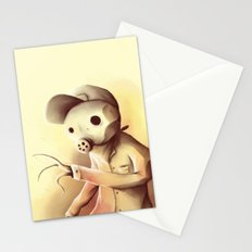 some kind of monster Stationery Cards