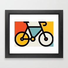 Color Bike 1 Framed Art Print