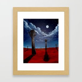 Ocho Framed Art Print