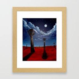 Ocho Framed Art Print