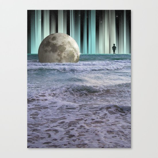 Dreaming At High Tide Canvas Print