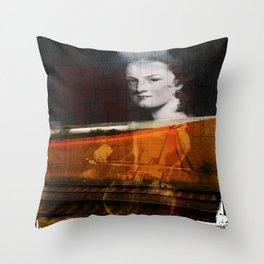 person place thing 2 Throw Pillow