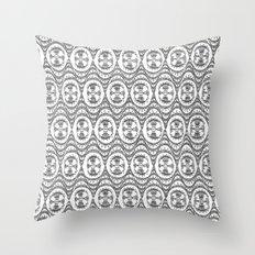 Downtown Doodler: Chrysler Building Archi-doodle Throw Pillow
