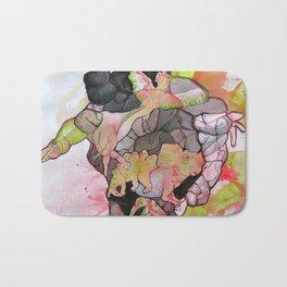 Dino-man Bath Mat