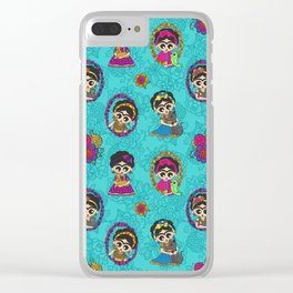 Little Animal Friends Clear iPhone Case
