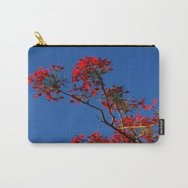 Rojo y Azul Carry-All Pouch