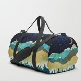 Snowy Night Duffle Bag
