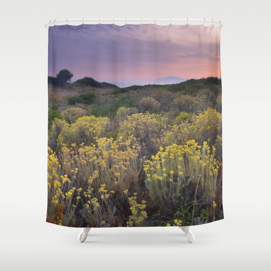 """Near the sea"" Shower Curtain by Guido Montañés 