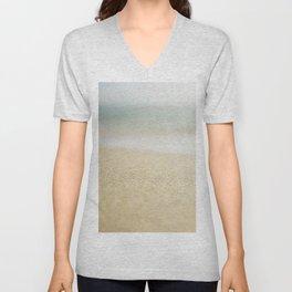 Sand Unisex V-Neck