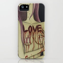 Love Hurts So Good iPhone Case