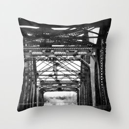 Brownwood Bridge Throw Pillow