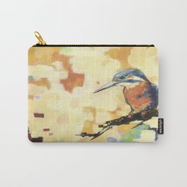 Kingfisher Isolated Carry-All Pouch