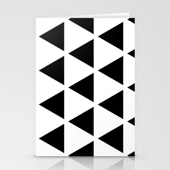 Sleyer Black on White Pattern Stationery Cards