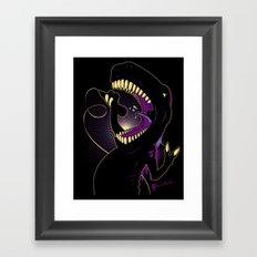 Tyrannosaurus Rockstar Framed Art Print