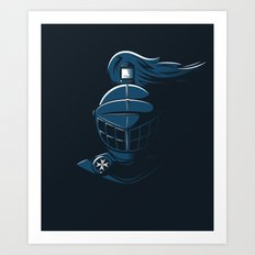 Knight Time Art Print
