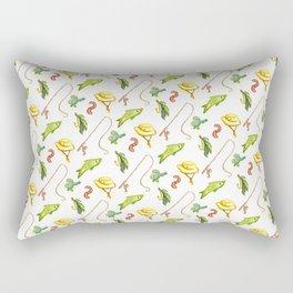 Gone Fishin' Rectangular Pillow