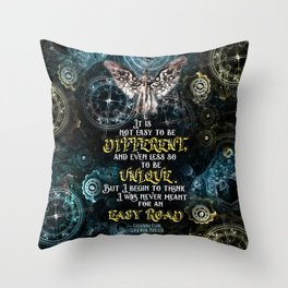Infernal Devices - Easy Road Throw Pillow