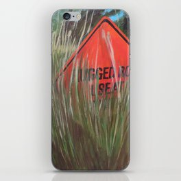 Rough Road - Use At Own Risk iPhone Skin