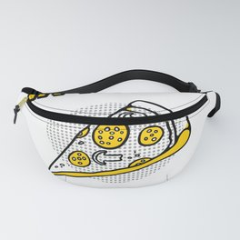 In pizza we crust trust funny pun Fanny Pack