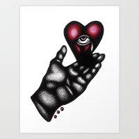 Love Will Tear Us Apart, Again Art Print