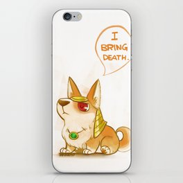 Deadly Puppy iPhone Skin