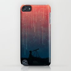 Meteor rain iPod touch Slim Case