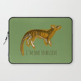 I´m one to believe ( thylacine ) Laptop Sleeve
