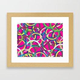 Spinning around I Framed Art Print