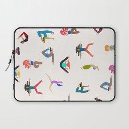 yoga lovers Laptop Sleeve