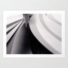 Paper Sculpture #3 Art Print