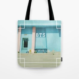 boy with luv Tote Bag
