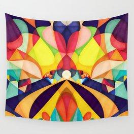 Poetry Geometry Wall Tapestry