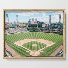Chicago baseball stadium Guaranteed Rate Field | USA Travel photography Serving Tray