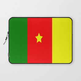 Flag of Cameroon Laptop Sleeve