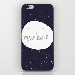bright side of the moon  iPhone Skin