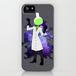 BRAINWAVES: THE SCIENCE OF MADNESS iPhone Case