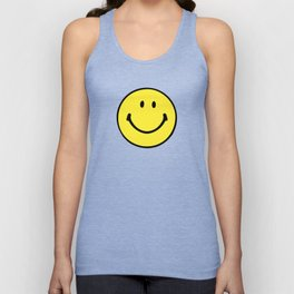 Smiley Face Unisex Tank Top