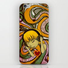 Musical Soul iPhone & iPod Skin