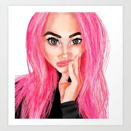 Kelsey Art Print