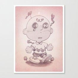 Charliebot Canvas Print