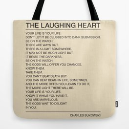 The Laughing Heart Tote Bag
