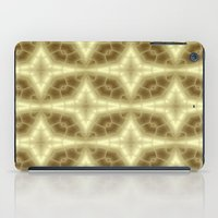 coasters iPad Cases featuring Abstract Gold Pattern by Lena Photo Art